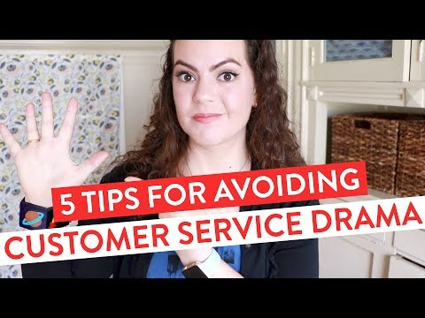 5 Tips for AVOIDING Customer Service DRAMA | E-Commerce & Etsy Business