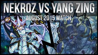Nekroz VS Yang Zing | Yu-Gi-Oh Day Tournament Match