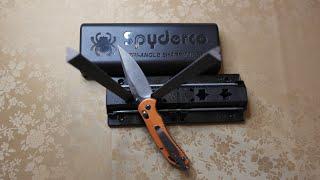 Spyderco Sharpmaker - fastest way to sharpen your knife to hair shaving sharp