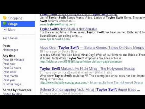 Taylor Swift  Speak Now Album Songs Download Links