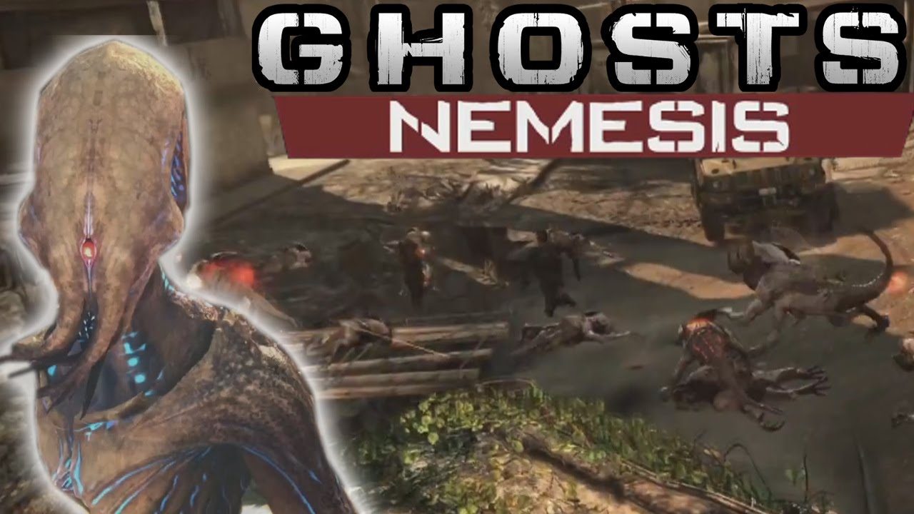 Call Of Duty Ghost Nemesis Dlc Trailer Extinction Exodus