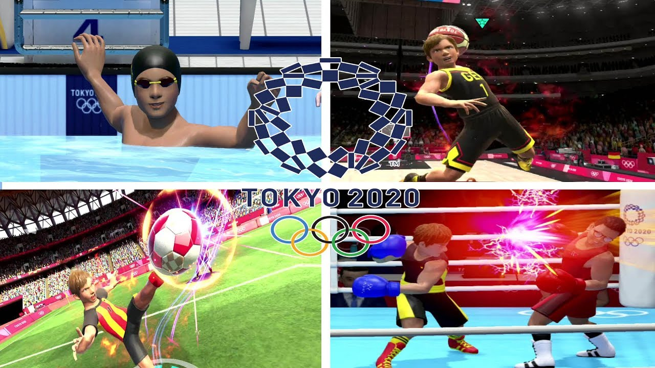 Tokyo 2020 Olympic Games All Sport Games Nintendo Switch Youtube