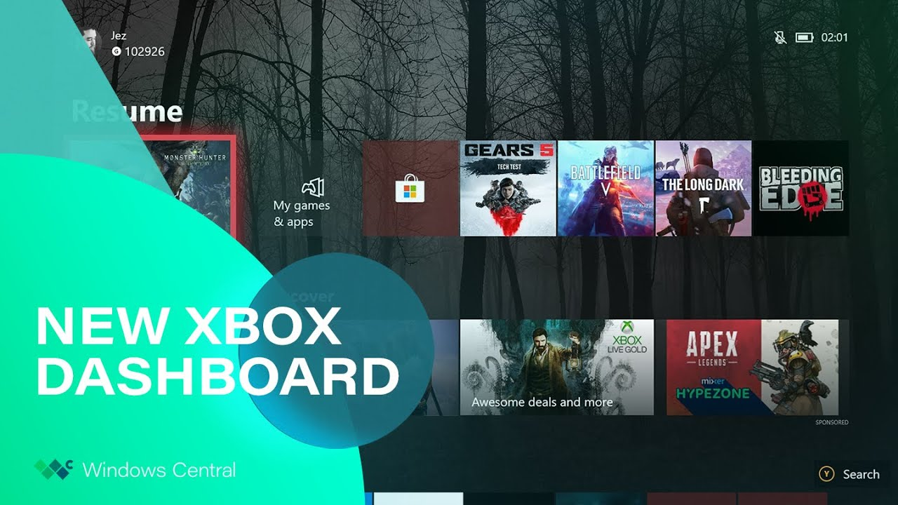 Hands-on with the shiny new dashboard in Xbox build 18362 | Windows