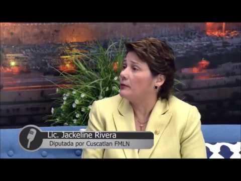 """Jackeline Rivera en programa """"HABLEMOS"""" de Canal 17 con Pastor Toby Jr"""