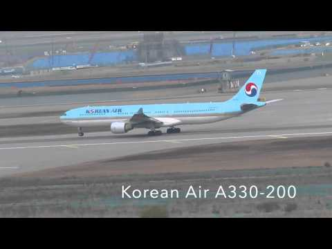 AWESOME Day At Seoul Incheon Airport November 2014