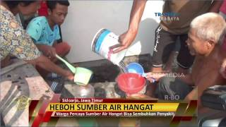 Heboh! Penemuan Sumber Air Hangat Penghilang Segala Penyakit