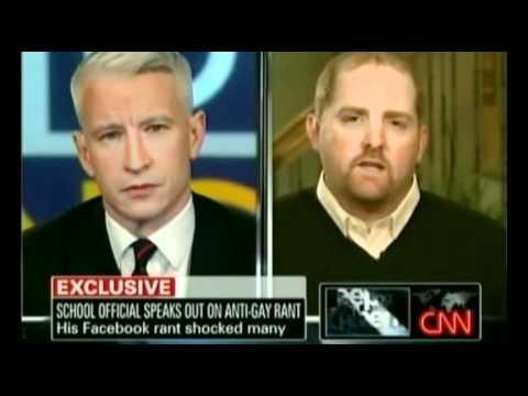 Anti-Gay Ranter vs. Anderson Cooper Part 1