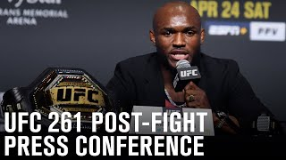 UFC 261: Post-fight Press Conference