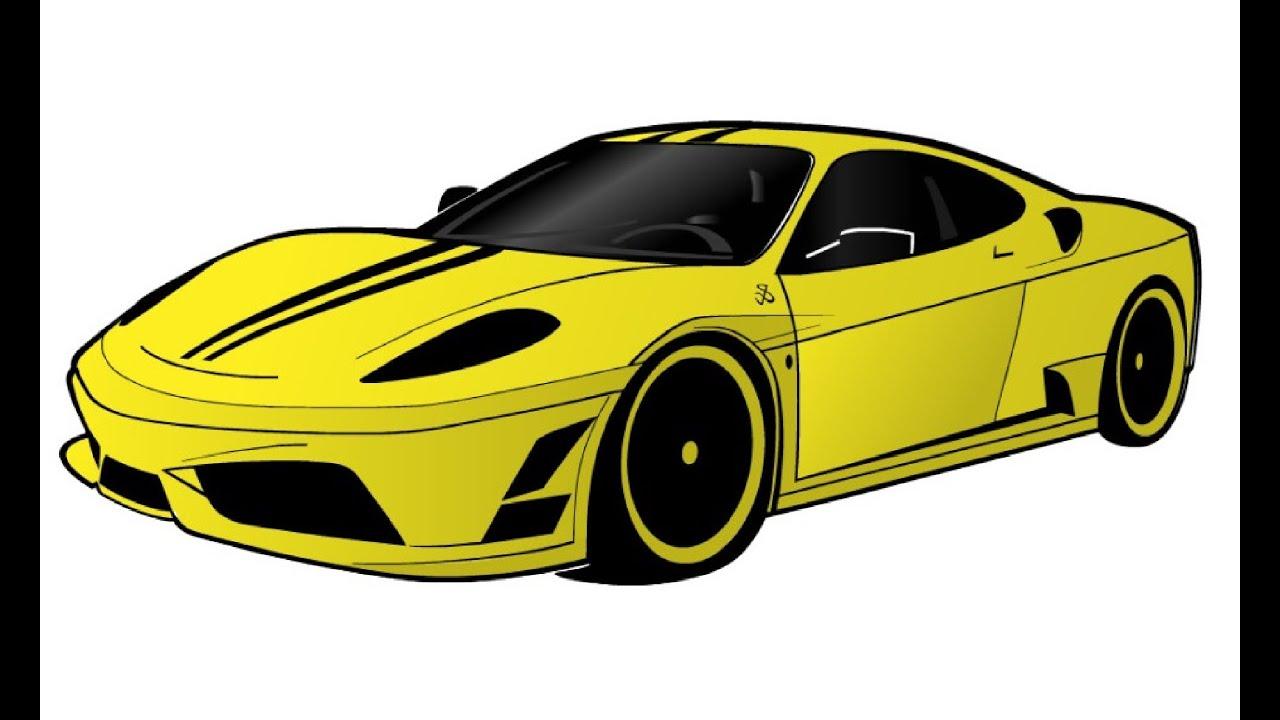 Cartoon Cars Ferrari Www Imgkid Com The Image Kid Has It