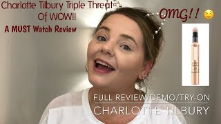 Full Review/ #CharlotteTilburyMagicAwayConcealer /#MagicFoundation / #4truthinmakeup