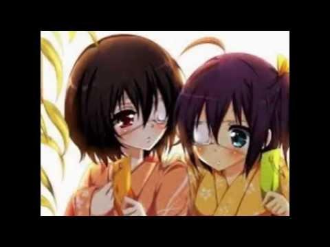 Misaki-Mei e Rikka-Cham