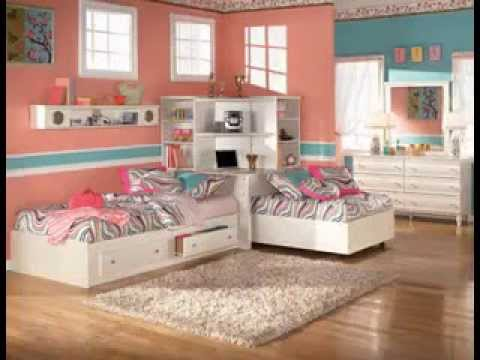 Twin girls bedroom ideas youtube for Twin girls bedroom ideas