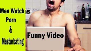 Masturbating porn Men watching