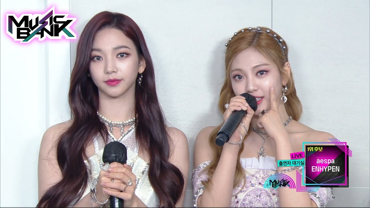 Download Interview with aespa and ENHYPEN (Music Bank) | KBS WORLD TV 211022