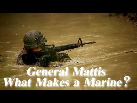 General James Mattis | What Makes a Marine?