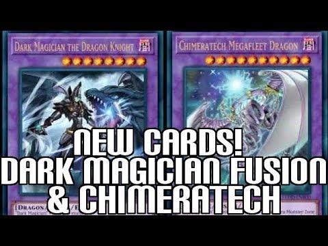 Yu-Gi-Oh! New Dark Magician Fusion & New Chimeratech Cyber Dragon - Legendary Dragon Decks!