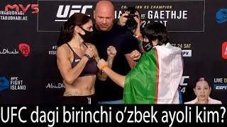 UFC dagi birinchi o`zbek ayoli