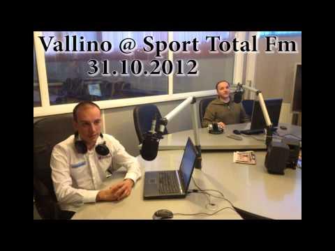 Vali Porcisteanu @ Sport Total FM - 31.10.2012
