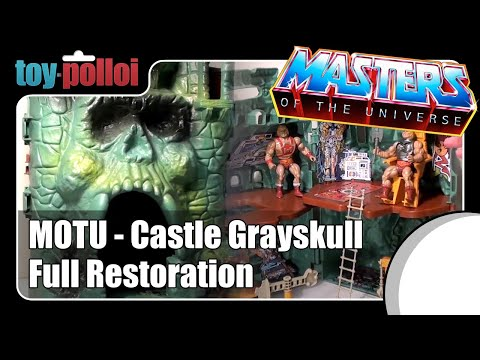 Fix it guide - He-man MOTU Castle Greyskull restoration