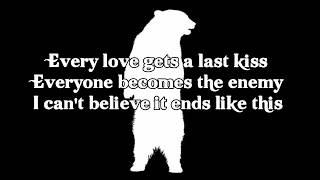 Minus the bear- Last kiss lyrics