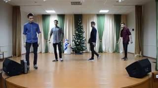 Новый год 2018 Ретро вечеринка 9 11 классы сш 14 г Брест часть 2