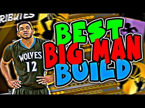 HIDDEN BEST BIG MAN BUILD! BEST POWER FORWARD BUILD NBA 2K18 MYPARK