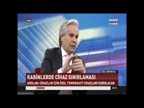 Ahmet Arslan, HaberTürk canlı yayın Özel Röportaj konuğu oldu
