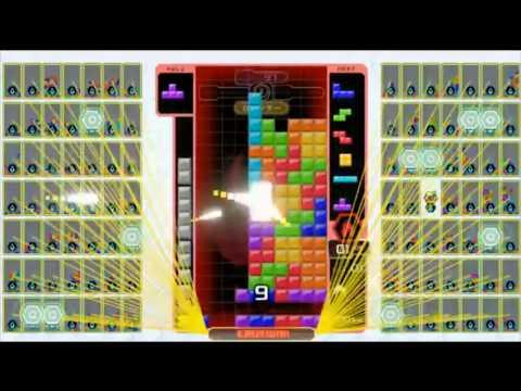 1人VS98人が実現した瞬間【テトリス99】【tetris99】