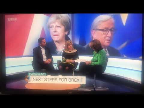 Maria Caulfield on Victoria Derbyshire talking about the EU