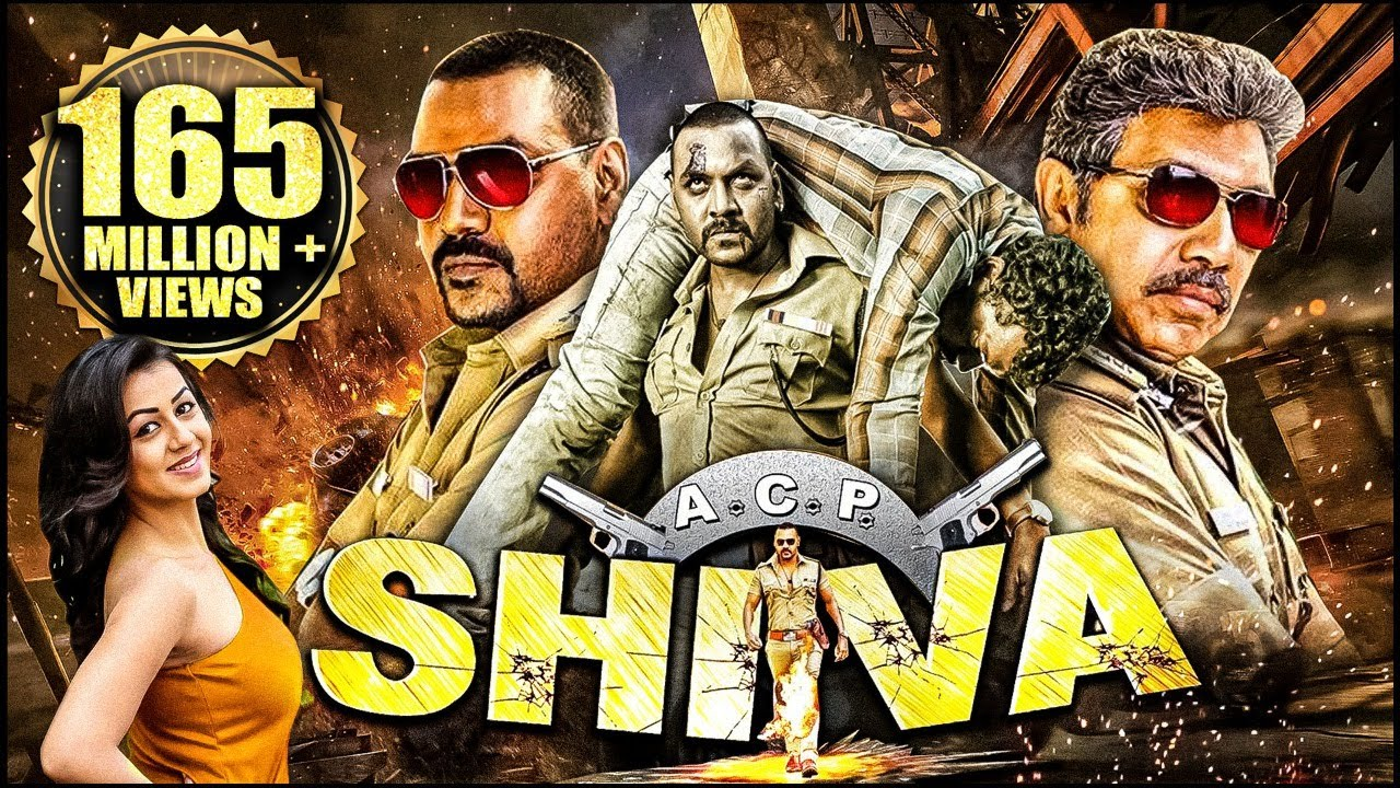 ACP Shiva Latest Movie Download Free - Hindi Dubbed Movie Cost Raghava Lawrence, Sathyaraj