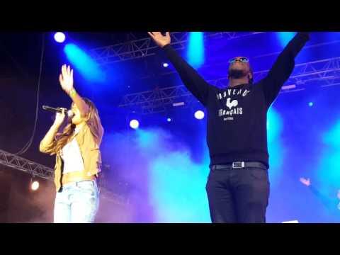 Youssoupha et Ayna à la foire de chalons