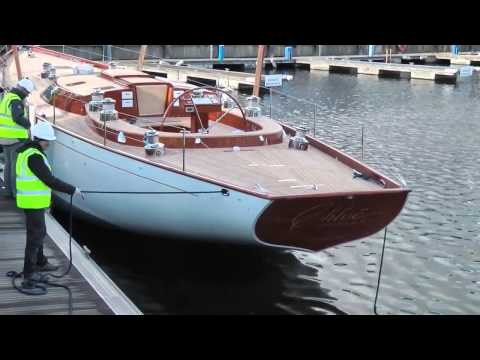 65' Classic Sailing Yacht Launch 2015