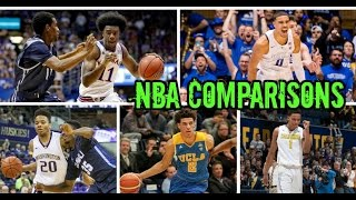 2017 NBA Draft Class: NBA Comparisons