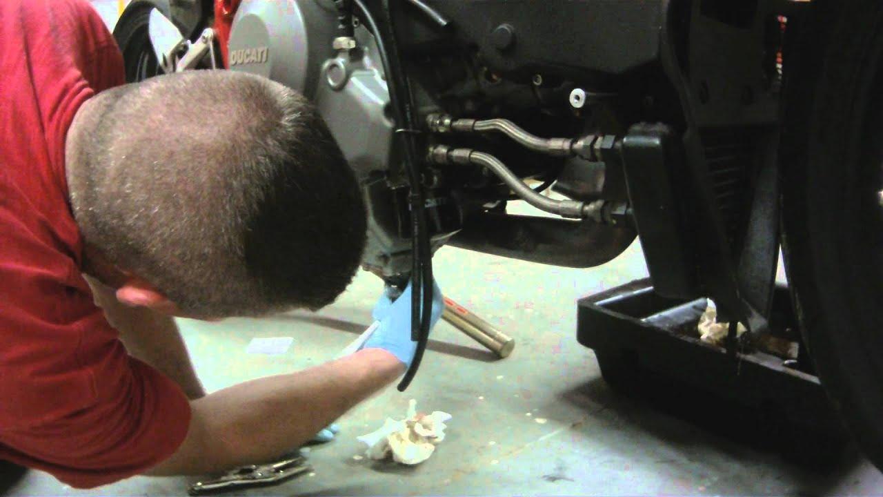 Ducati Monster Oil Filter Leak