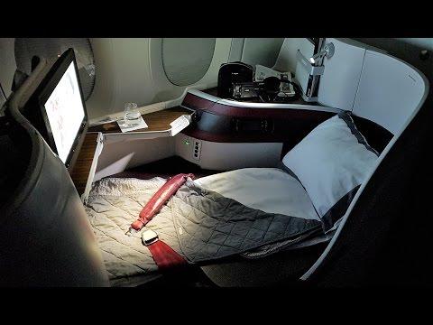 Qatar A350 Business Class Review