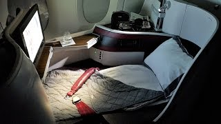 Qatar A350 Business Class Review