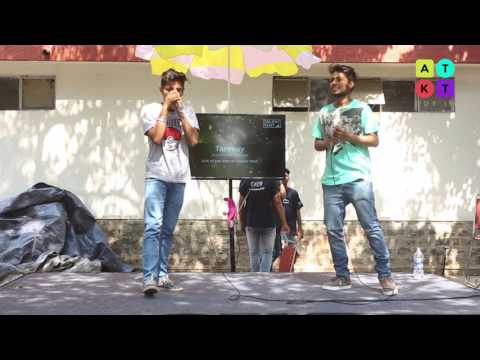 Dubstep and Hip Hop Beatboxing by College Students at Mecca Festival |ATKT.in Talent Tent