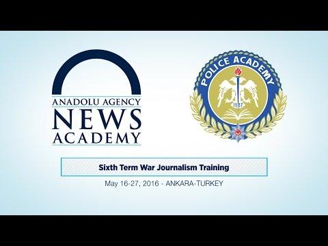 Sixth Term War Journalism Training
