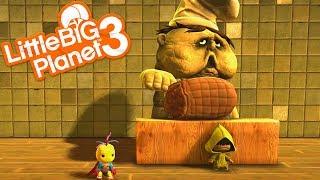 NEW LITTLE NIGHTMARES LEVELS | LittleBIGPlanet 3 Gameplay (Playstation 4)