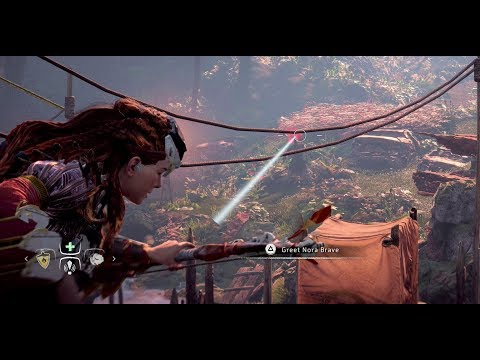 Horizon Zero Dawn PS4 - Checking Out Stealth Combat (Gameplay/walkthrough)