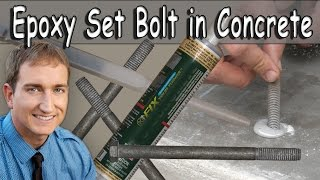 How Epoxy Glue Anchor Bolts Concrete