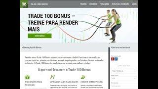 NOVO BÔNUS FBS U$100 e Login Metatrader 5 - Forex