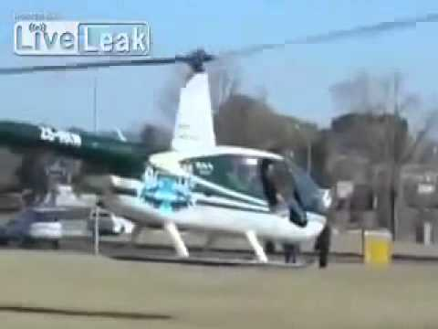 Helicopter Crash in Kroonstad,South Africa Caught on Camera flv