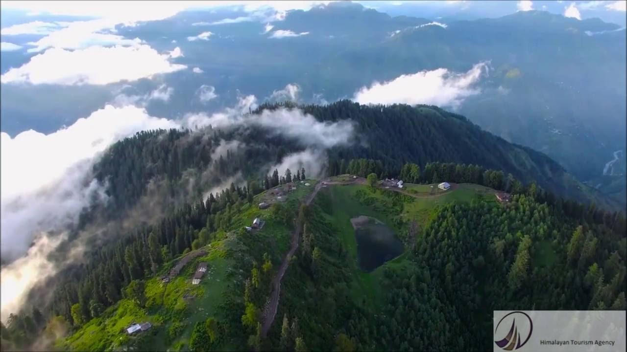 Aerial View Of Naran Kaghan Valley Hd