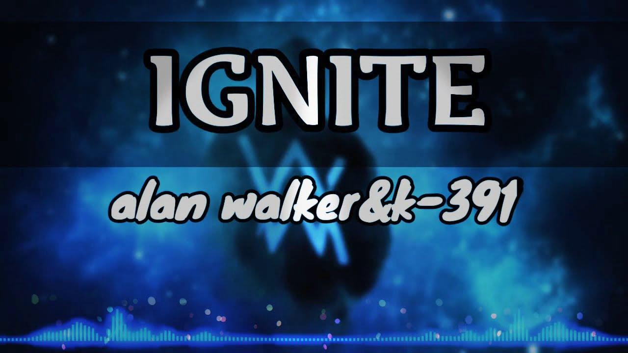 Ignite by Alan walker(lyrics video) - YouTube