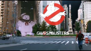 GHOSTBUSTERS ( filming location video ) Bill Murray