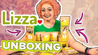 7 BEST KETO BREAD + PASTA I BOUGHT from LIZZA 🥪 Unboxing Review LESS CARBS THAN FATHEAD