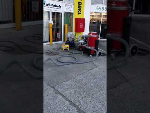 Compact power for Concrete Grinders and dust extractors