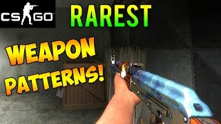 CS:GO - Rarest Weapon Skin Patterns! (CS GO Rare Skins)
