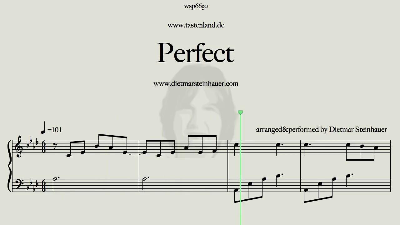 Perfect ed sheeran youtube for Dietmar steinhauer
